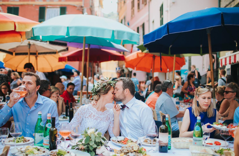 DESTINATION WEDDING IN ITALY CINQUE TERRE
