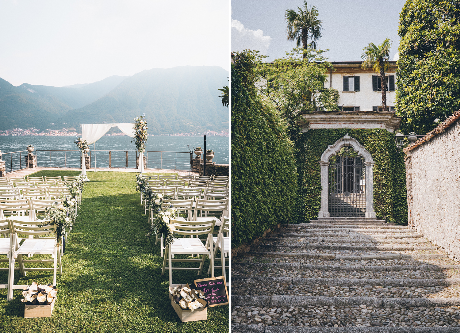 Destination wedding in Villa Monastero Pax Como Lake Carolina Serafini Photographer