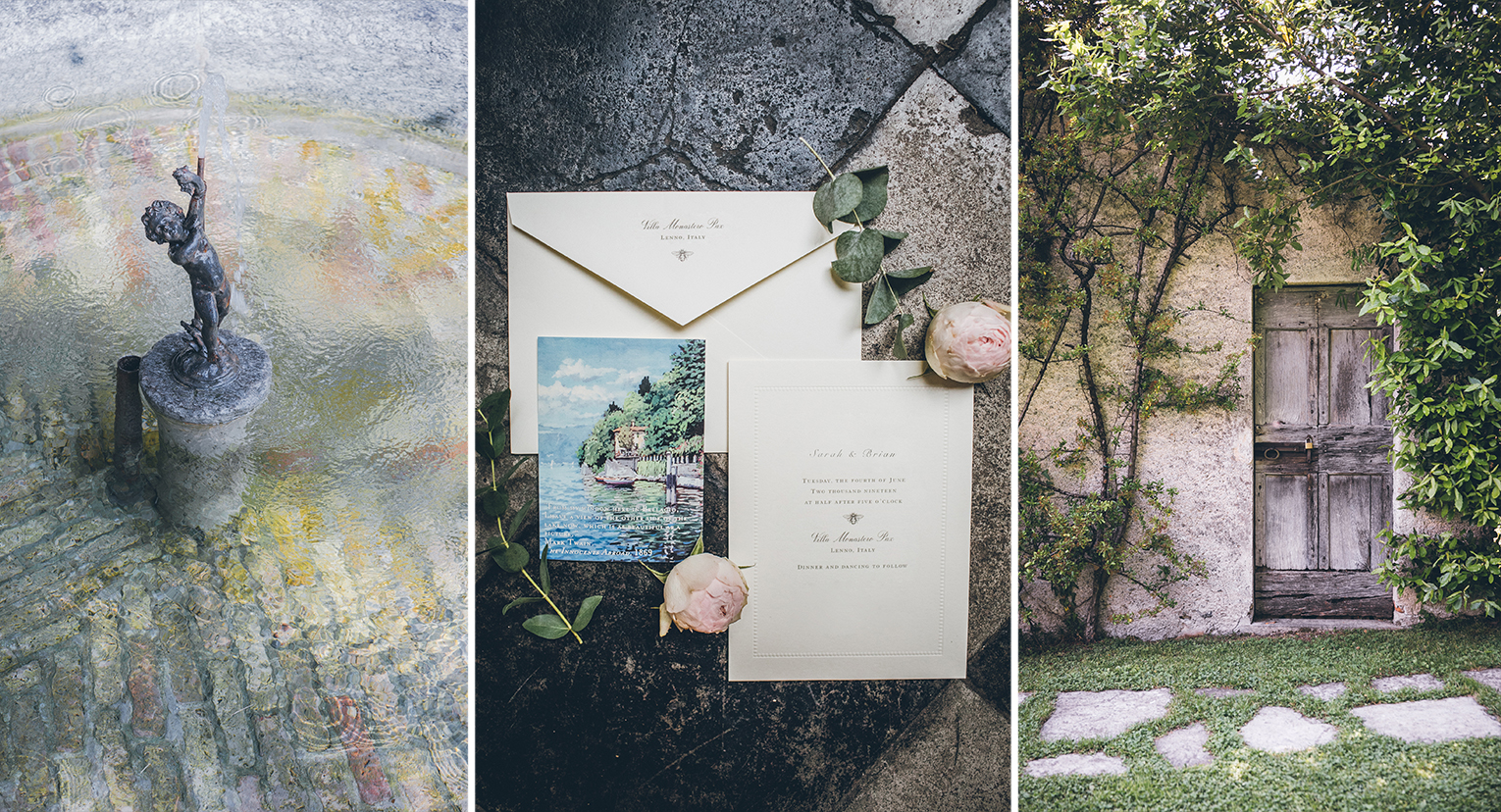ROMANTIC WEDDING IN COMO LAKE VILLA MONASTERO PAX