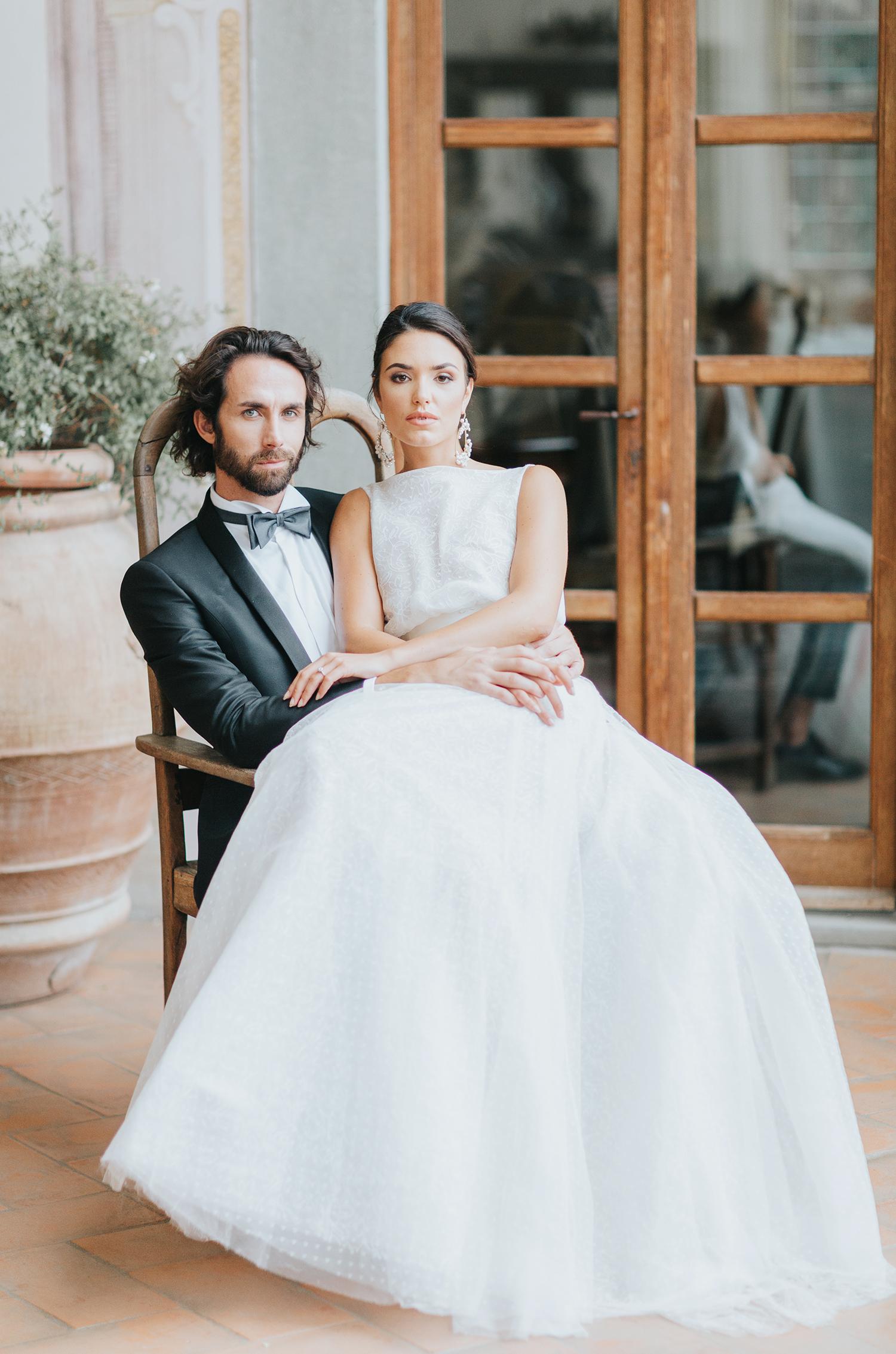 bride anche groom