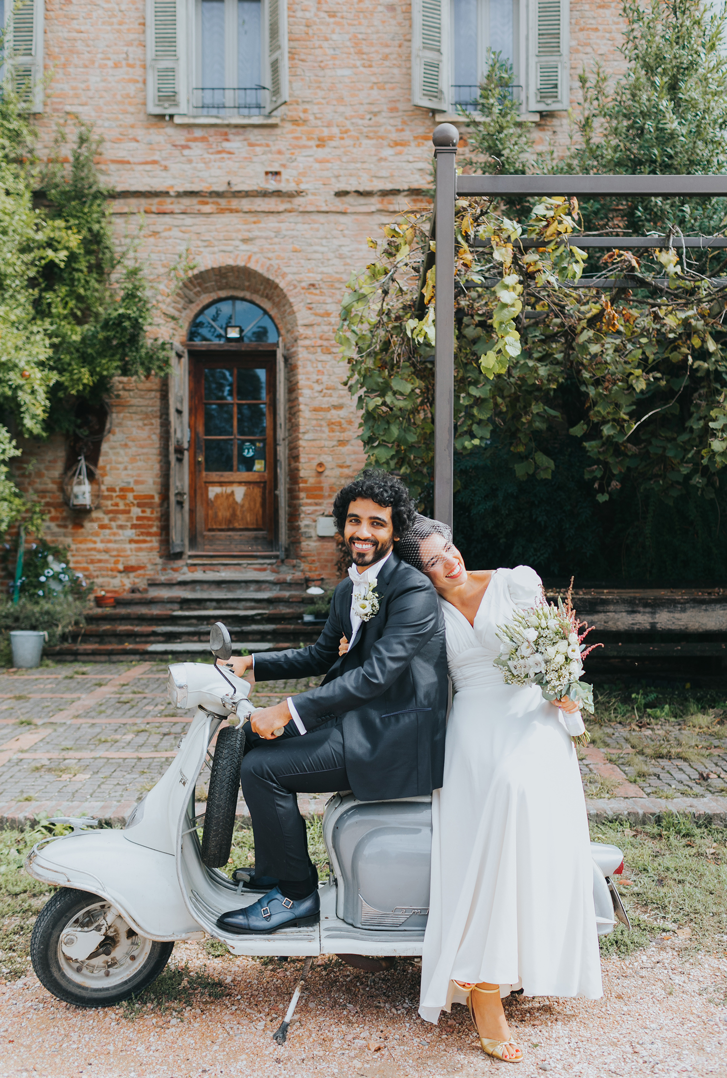 sposi a Cascina Lago Scuro Cremona