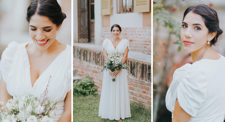 sposa a Cascina Lago Scuro Cremona
