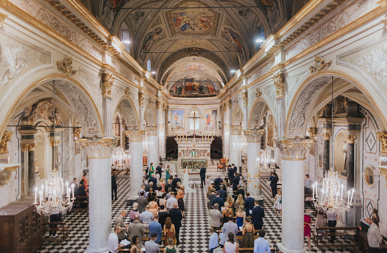 Divo Martino church Portofino